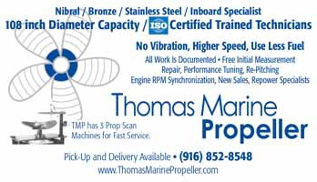 Thomas Marine Propeller